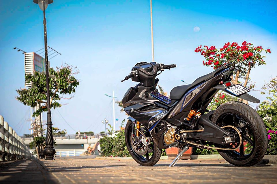 Exciter 150 do day thu vi voi bo canh full Carbon dung nghia - 11