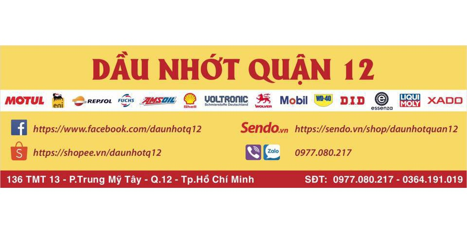 Dau Nhot Quan 12 Sen Vang DID 9 ly 428D 10 ly 428HD 130 Mat Made in Japan Bao Chinh Hang