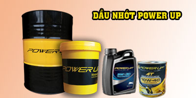 Dau nhot thuy luc 68 Power Up gia canh tranh