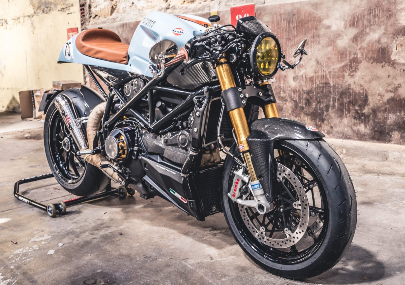 Ducati 1098S do an tuong voi phong cach Streetfighter - 3