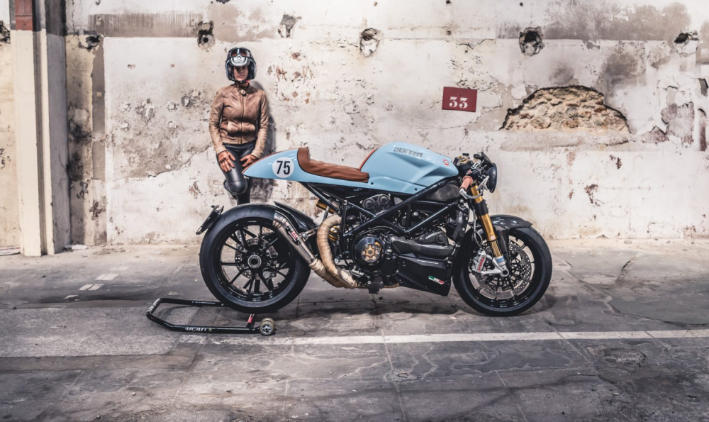 Ducati 1098S do an tuong voi phong cach Streetfighter