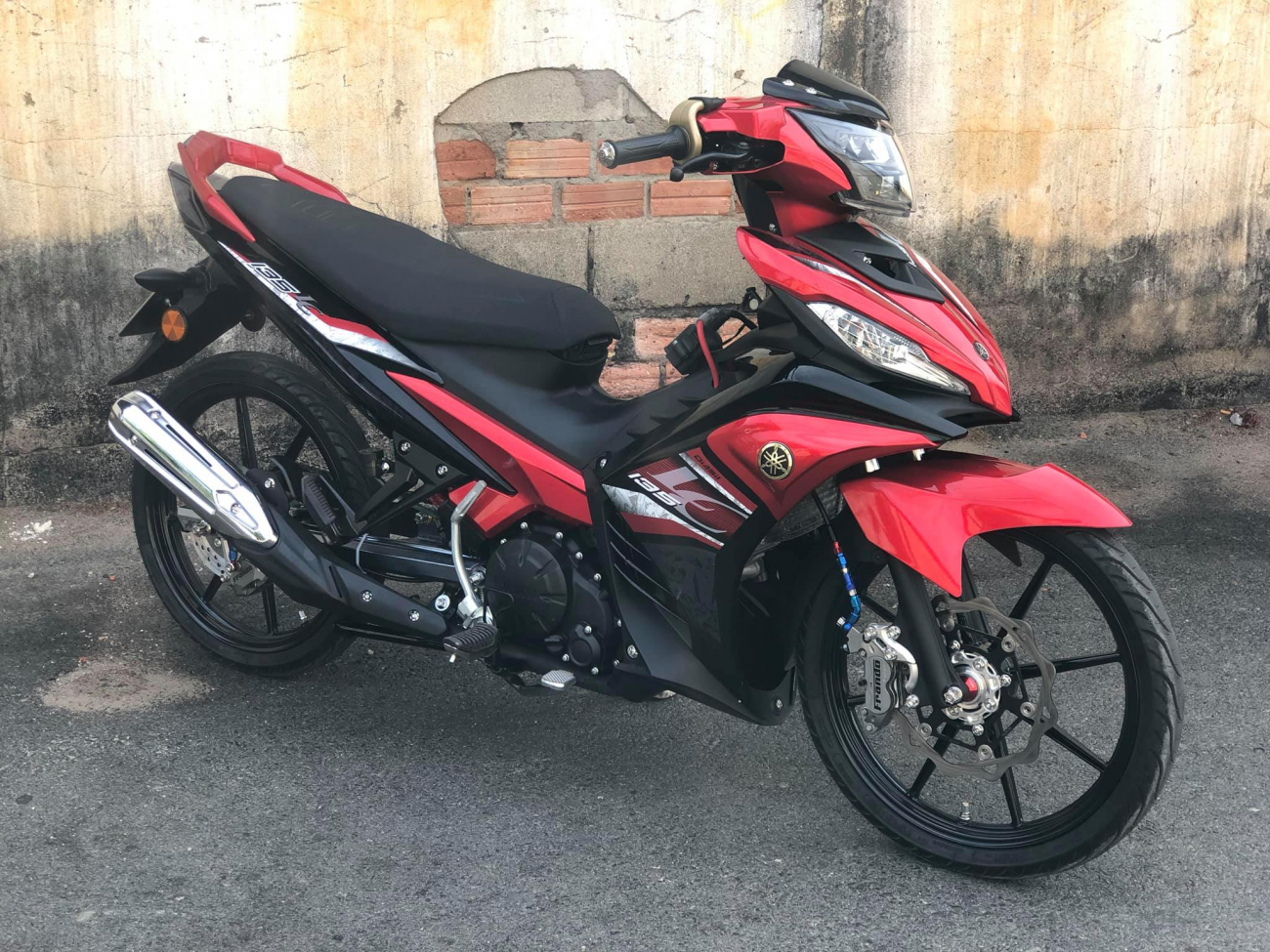 Exciter 135 cai trang thanh LC 135 voi dan chan chat luong - 9