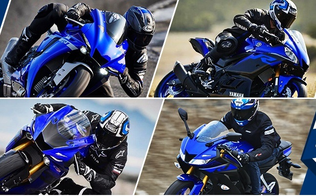 Lich su cac dong xe trong gia dinh Yamaha RSeries