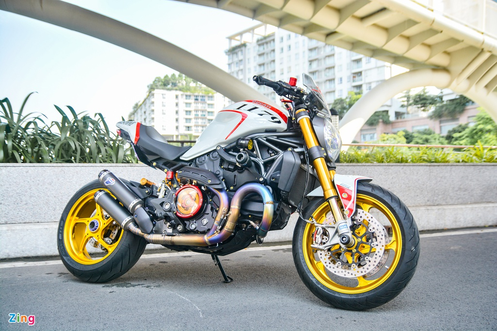 Ducati Monster 821 update 1200 voi gia tri nua ty dong - 3