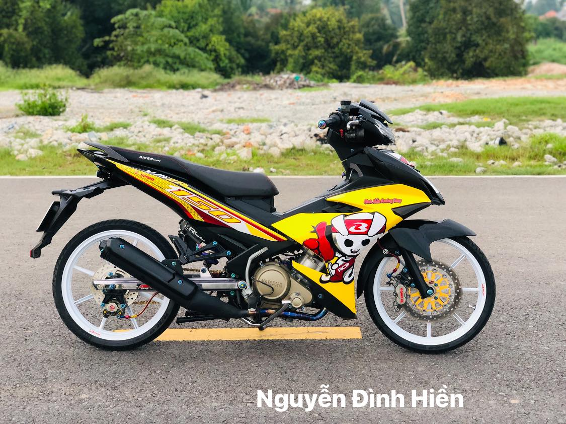 Exciter 150 do phong cach Racing Boy thu thiet - 12