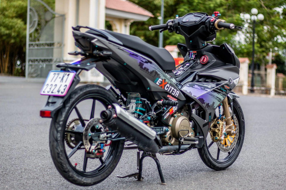 Exciter 150 do the nay ai nhin cung thich - 23