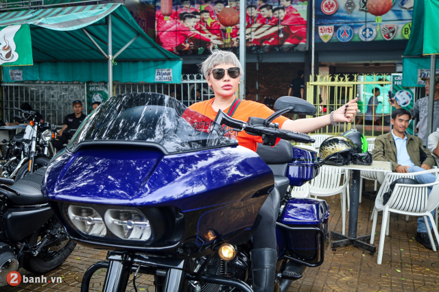 Theo chan anh em HarleyDavidson tien ve Can Tho trong su kien Weekend We Ride - 37