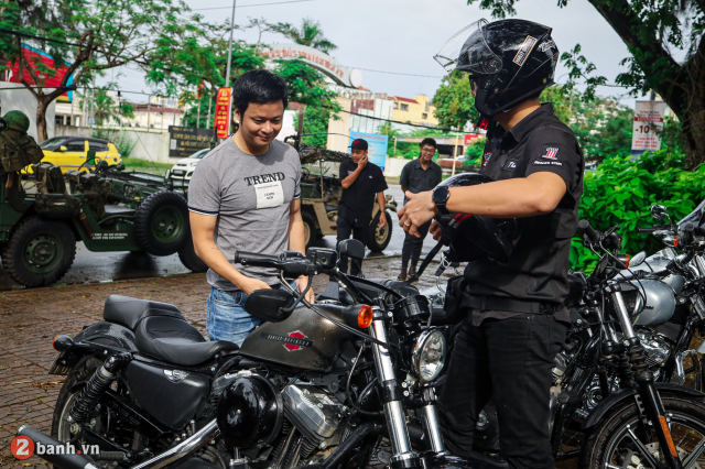 Theo chan anh em HarleyDavidson tien ve Can Tho trong su kien Weekend We Ride - 44