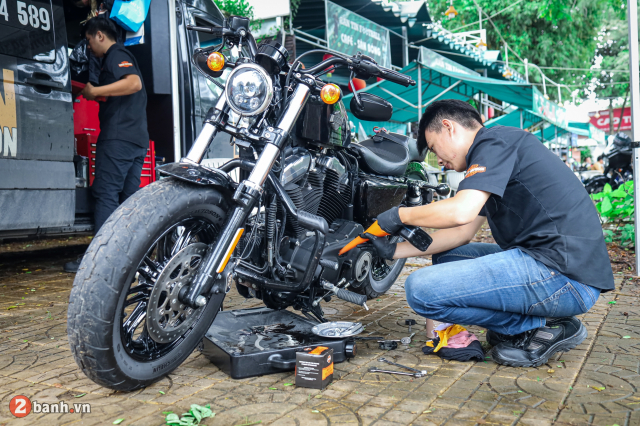 Theo chan anh em HarleyDavidson tien ve Can Tho trong su kien Weekend We Ride - 49