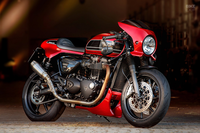 Triumph Speed Twin do phong cach Cafe Racer an tuong - 3