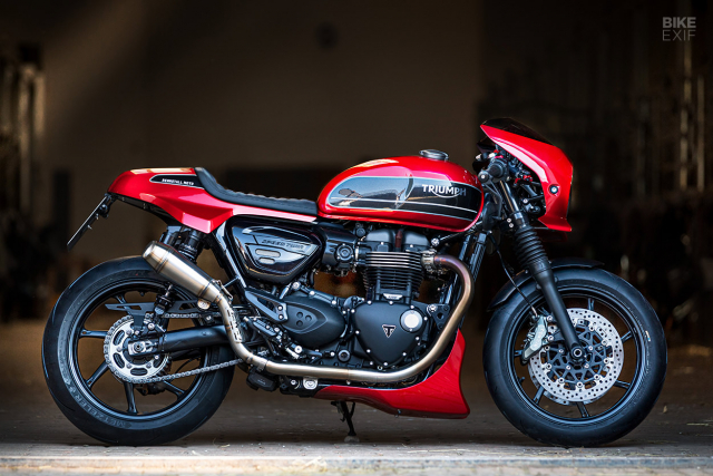 Triumph Speed Twin do phong cach Cafe Racer an tuong - 4