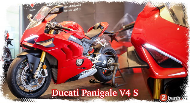 Can canh Ducati Panigale V4 S 2020 gan 1 ty tai Viet Nam