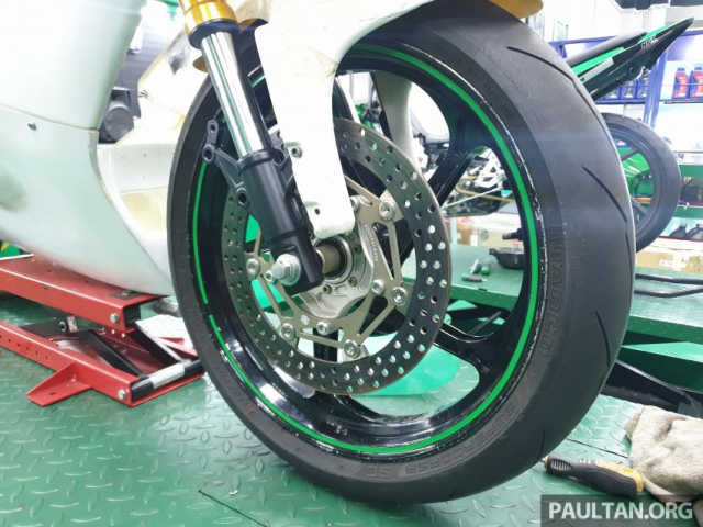 Exciter 150 do chay san Moto3 se dinh nhu the nao - 10