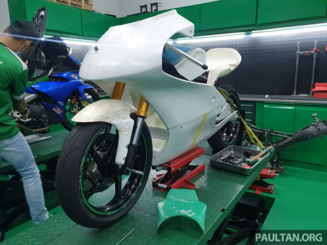 Exciter 150 do chay san Moto3 se dinh nhu the nao - 17