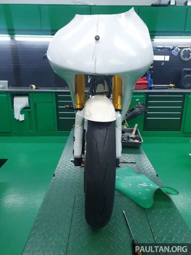 Exciter 150 do chay san Moto3 se dinh nhu the nao - 7