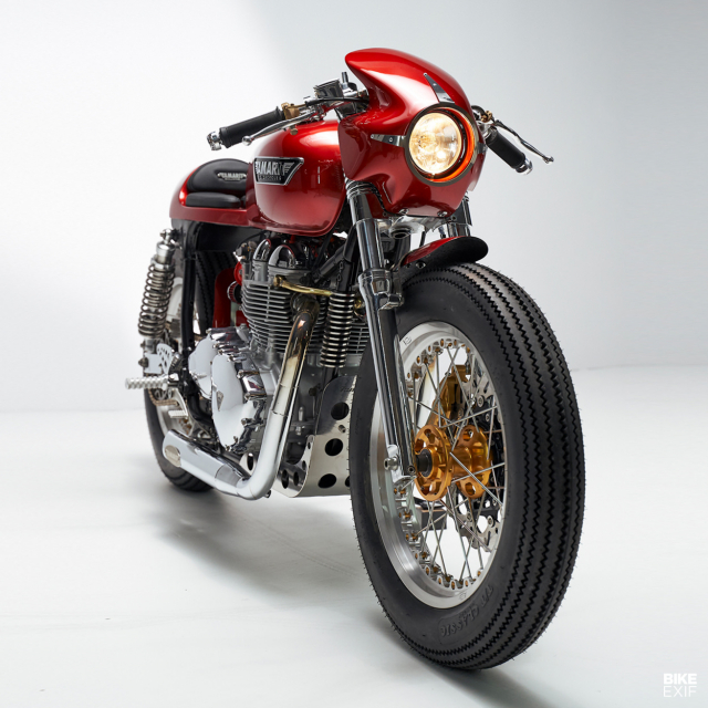 Triumph thruxton do mang ten Gullwing X buoc ngoat cua phong cach Cafe Racer co dien - 6