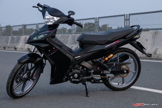Exciter 135 4s van lung linh du trong bo canh full black - 12