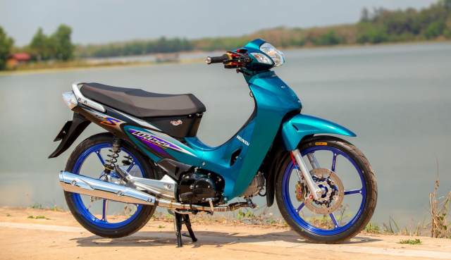 Wave 125 ve dep bat bai ton tai den hom nay - 12