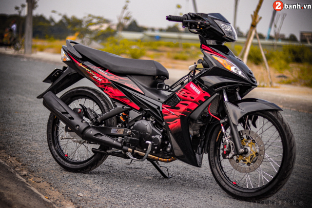 Exciter 135 do phong thich ban than voi tong mau day noi loan - 28