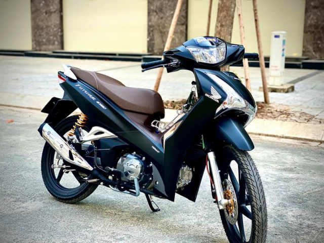 Future 125 full den di dan do choi nay la xe bao ngau - 12
