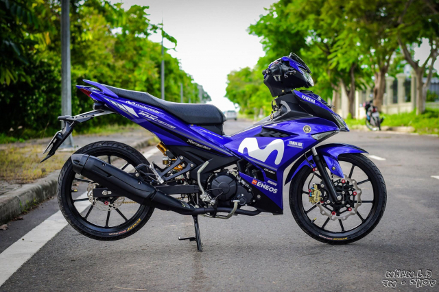 Exciter 150 Style Movistar dep ngat ngay cua biker mien Tay - 3
