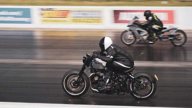 Ngo ngang voi Triumph Bonneville Bobber do chay nhanh nhat the gioi hien nay