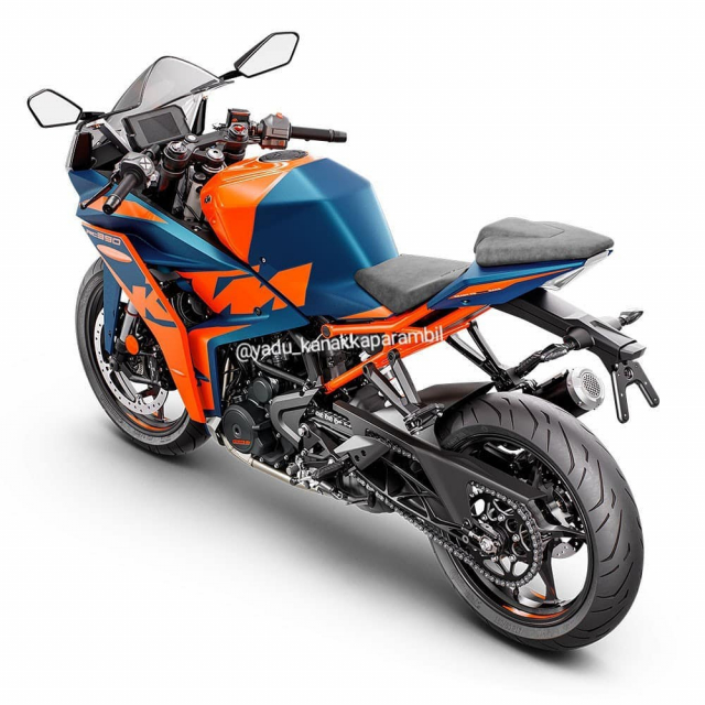 Chi tiet KTM RC 390 2022 lo dien gay nhieu that vong - 6