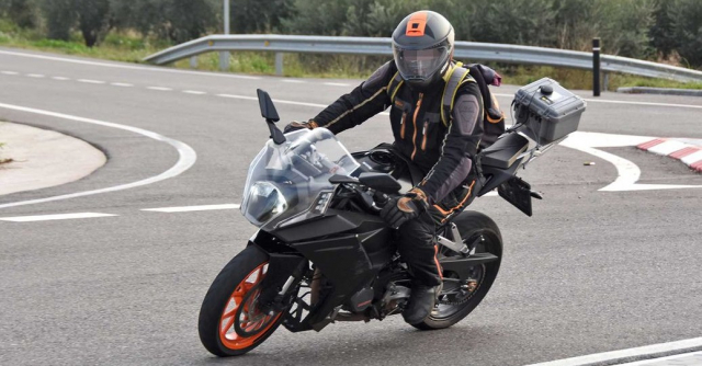 Chi tiet KTM RC 390 2022 lo dien gay nhieu that vong - 8